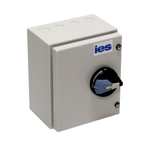 Enclosed Metal IP55* - 3 Pole and Neutral