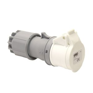 IP44 Splashproof Connector 16 AMP - Low Voltage