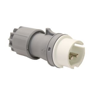 IP44 Splashproof Plug 16 AMP - Low Voltage